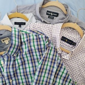 4 XL men's dress shirts in excellent condition